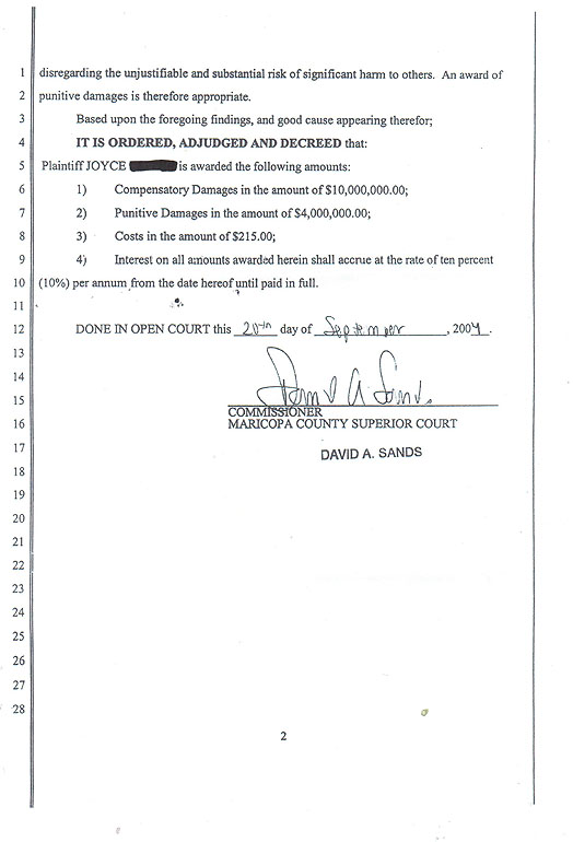 Court Documents - From Miracle to Murder: Justice for Adam